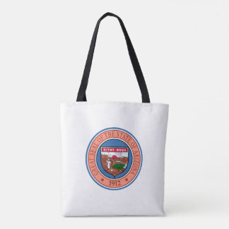 Arizona seal united states america flag symbol rep tote bag