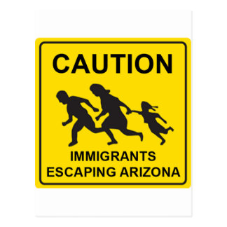 Arizona sign postcard