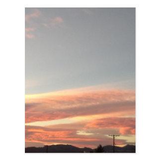 Arizona sky postcard