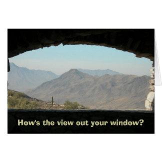 Arizona Skyline (How's the view?) Card