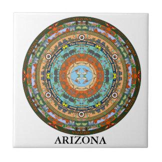 Arizona State Ceramic Tile