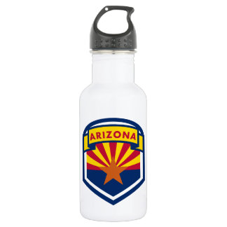 Arizona State Flag 532 Ml Water Bottle