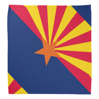 Arizona State Flag Design Bandana
