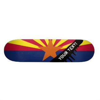 Arizona State Flag Skate Boards