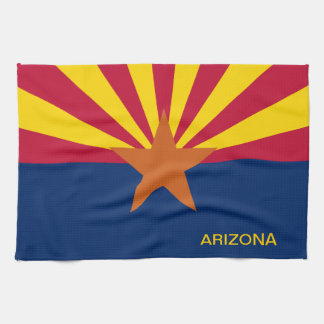Arizona State Flag Tea Towel