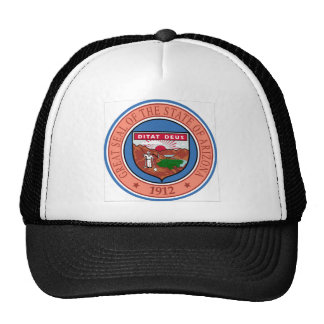 Arizona State Seal Trucker Hats