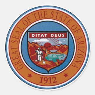 Arizona State Seal Sticker