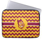 Arizona State Sparky | Chevron Pattern Laptop Sleeve