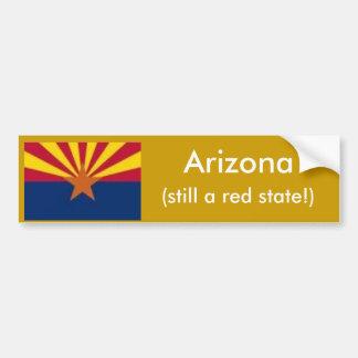 Arizona, still red state bumper sticker