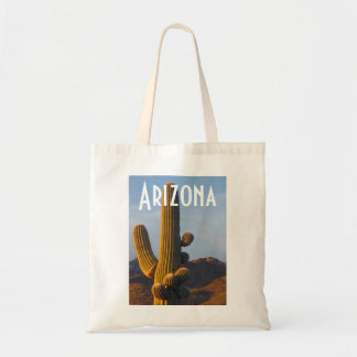 Arizona Sunlit Saguaro Bag