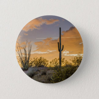 Arizona Sunset 6 Cm Round Badge