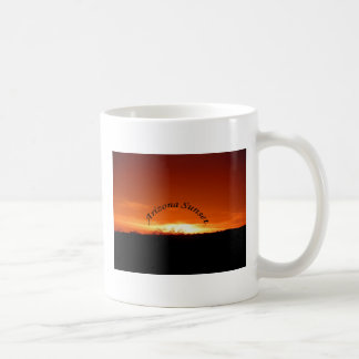 Arizona Sunset Basic White Mug