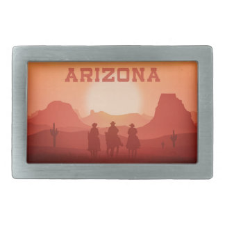 Arizona Sunset belt buckle