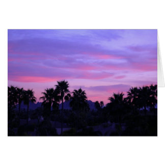 Arizona Sunset (Blank) Stationery Note Card