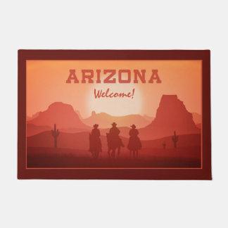 Arizona Sunset custom door mats