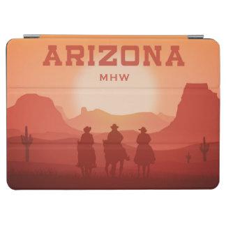 Arizona Sunset custom monogram device covers iPad Air Cover