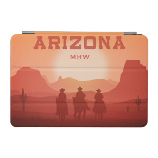 Arizona Sunset custom monogram device covers iPad Mini Cover
