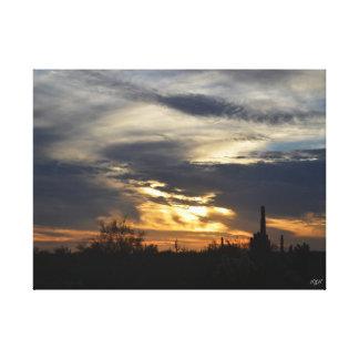 Arizona Sunset Gallery Wrap Canvas