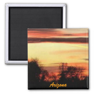 arizona sunset magnet