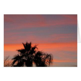 Arizona Sunset Note Card