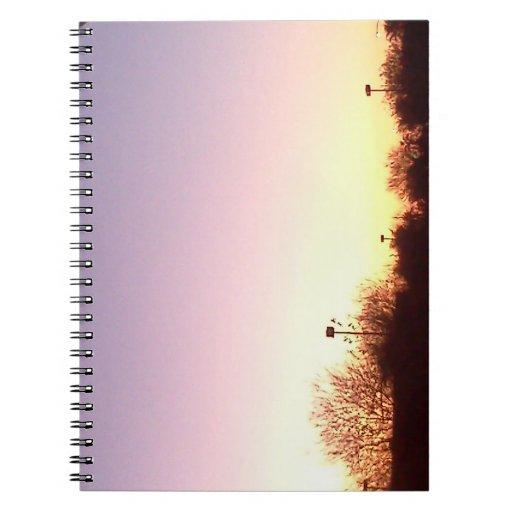 Arizona Sunset Spiral Notebooks