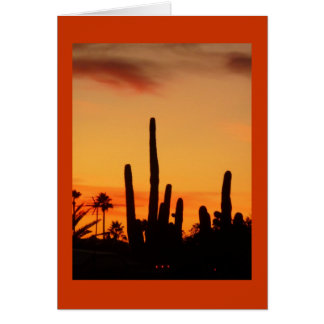 Arizona Sunset Notecard Note Card