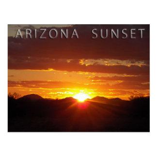 Arizona Sunset Postcard