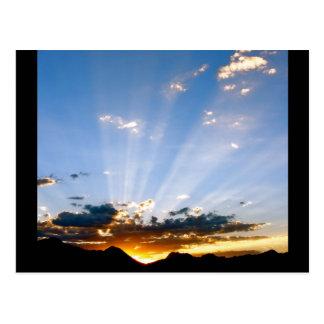 Arizona Sunset Post Card