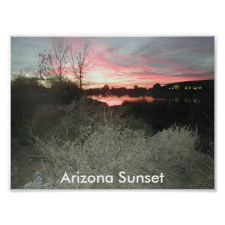 Arizona Sunset Poster