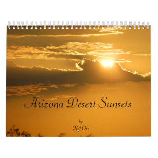 Arizona Sunsets 2013 Calendar