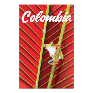 Arizona the copper state vintage travel poster stationery