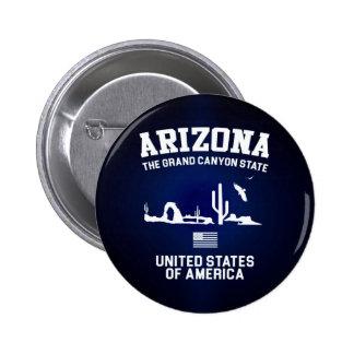 Arizona The Grand Canyon State 6 Cm Round Badge