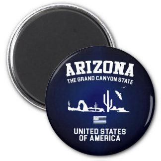Arizona The Grand Canyon State 6 Cm Round Magnet