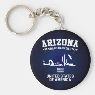 Arizona The Grand Canyon State Basic Round Button Key Ring
