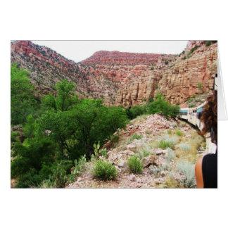 Arizona Train - Southwest Outdoors - Blank Card