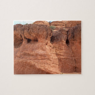 ARIZONA - Upper Antelope Canyon A - Red Rock Jigsaw Puzzle