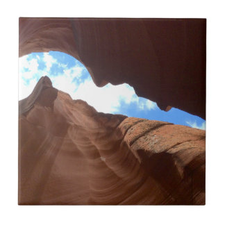 ARIZONA - Upper Antelope Canyon B - Red Rock Ceramic Tile