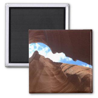 ARIZONA - Upper Antelope Canyon B - Red Rock Magnet