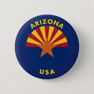 Arizona USA 6 Cm Round Badge