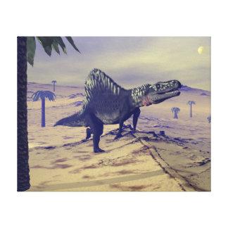 Arizonasaurus dinosaur - 3D render Canvas Print