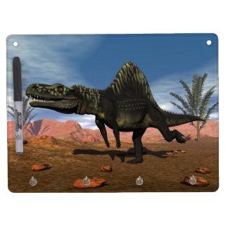 Arizonasaurus dinosaur - 3D render Dry Erase Board With Key Ring Holder