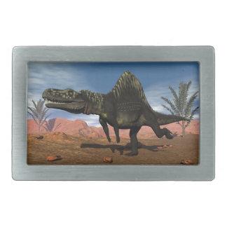 Arizonasaurus dinosaur - 3D render Rectangular Belt Buckles