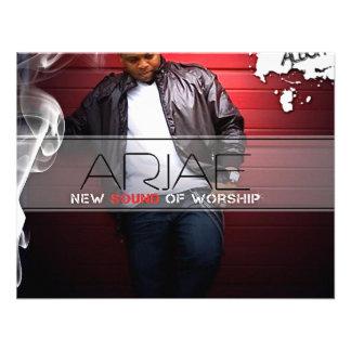 Arjae Matthews Style 3 Music Merch Announcement
