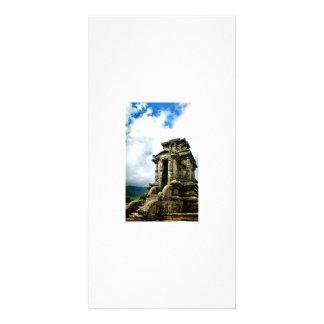 Arjuna temple photo card