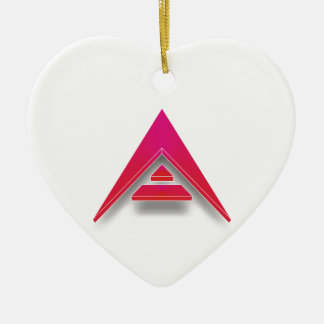 ARK in 3D Ceramic Heart Decoration
