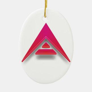 ARK in 3D Ceramic Oval Decoration