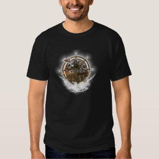 Ark through the Portal on black Tshirts
