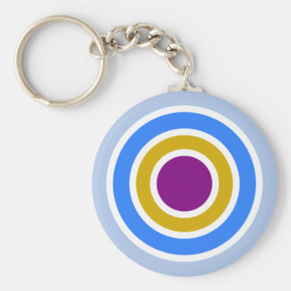 Arkadia / 5.7 cm Basic Button Key Ring