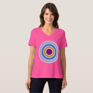 Arkadia / Women's Bella Relaxed Fit Jersey V-Neck T-Shirt