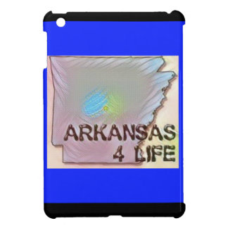 """Arkansas 4 Life"" State Map Pride Design Case For The iPad Mini"